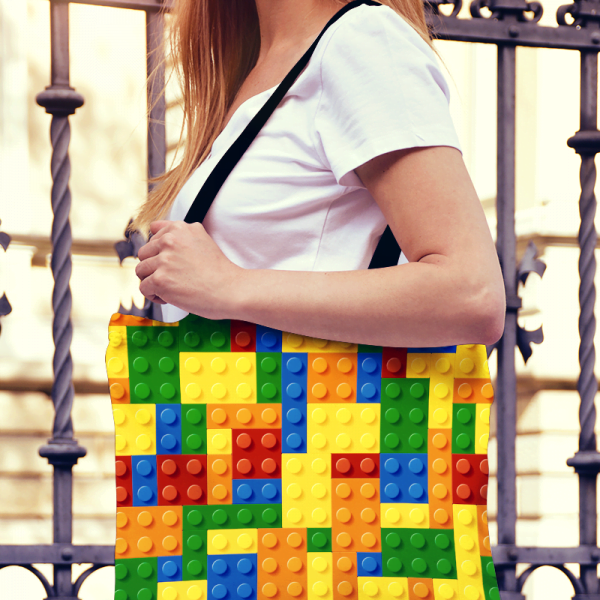 LEGO Tote Bag / Bricks Tote Bag
