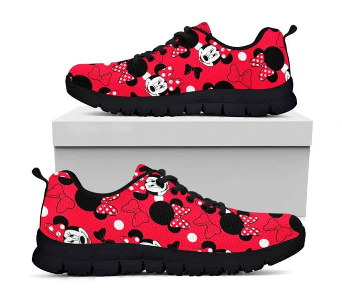 Minnie Mouse Shoes – Minnie Sneakers – Disney – Mickey Mouse