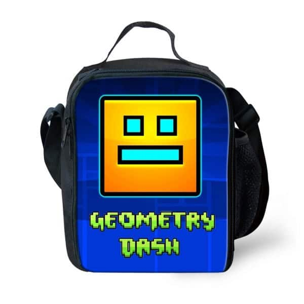 Geometry Dash Lunch Bag