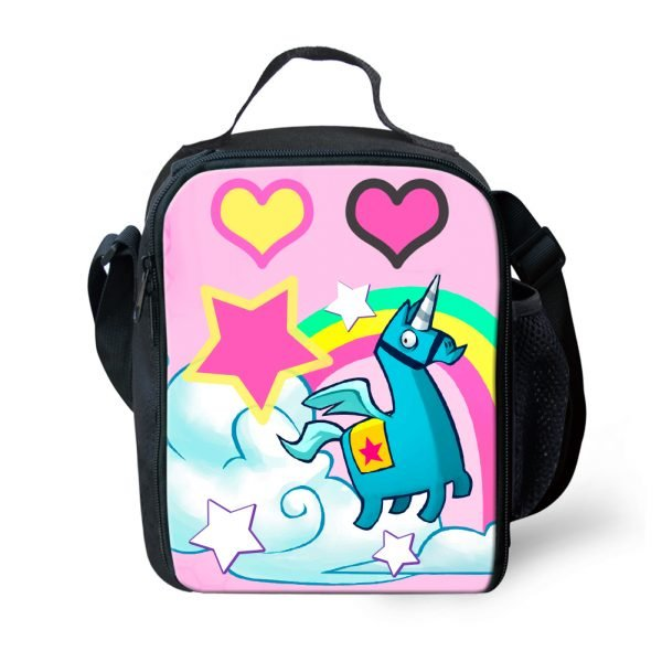 Fortnite Brite Unicorn Llama Lunch Bag