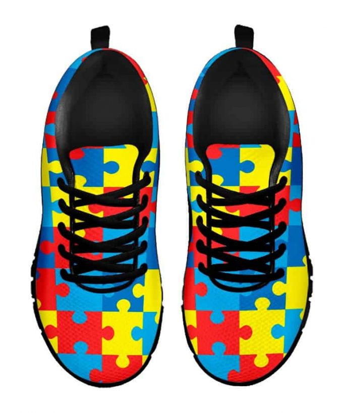 Puzzle Shoes – Autism Awareness Sneakers