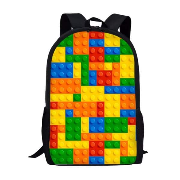 LEGO Backpack / Lego Bag / Lego School Bag