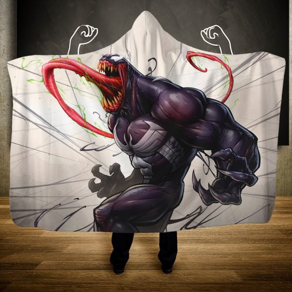 Venom Hooded Blanket – Limited Edition
