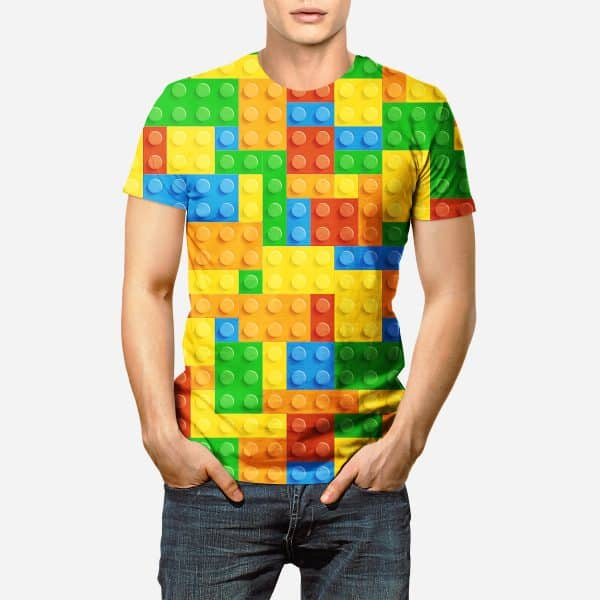 LEGO Adult T-Shirt / Bricks Unisex T-Shirt