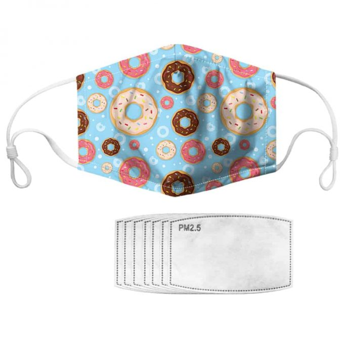 Donut Face Mask – Donut Mask + Filters PM2.5
