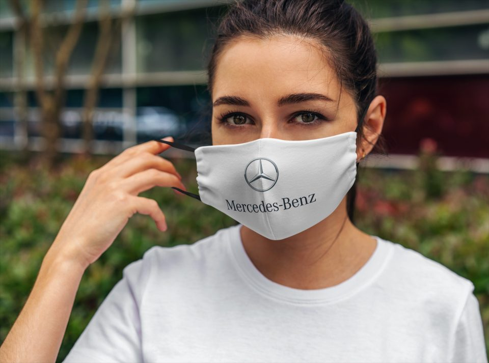 Mercedes-Benz Mask – Mercedes Face Mask + Filters PM2.5