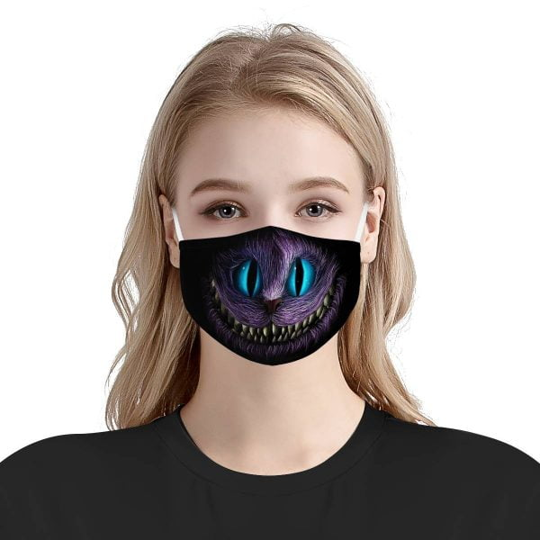 Cheshire Cat Face Mask + Cheshire Cat Mask + PM2.5