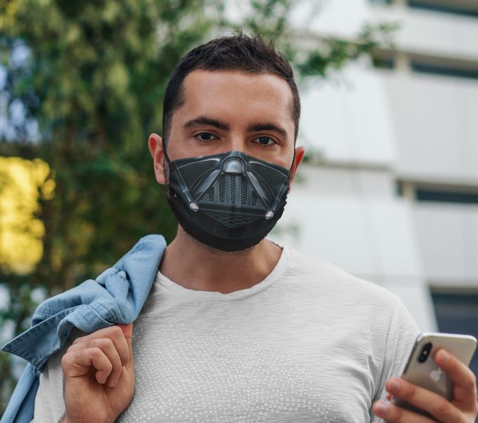 Darth Vader Face Mask + Filters PM2.5