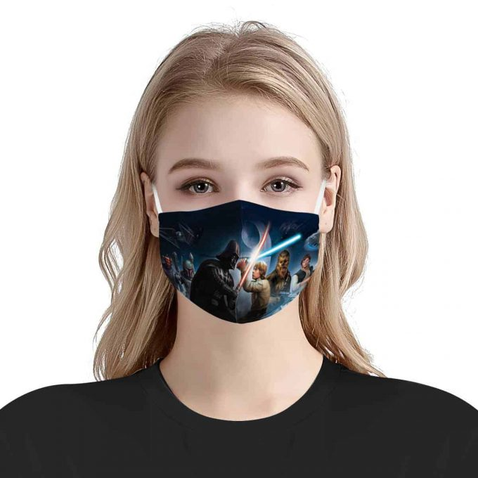Star Wars Face Mask – Star Wars Mask + Filters PM2.5
