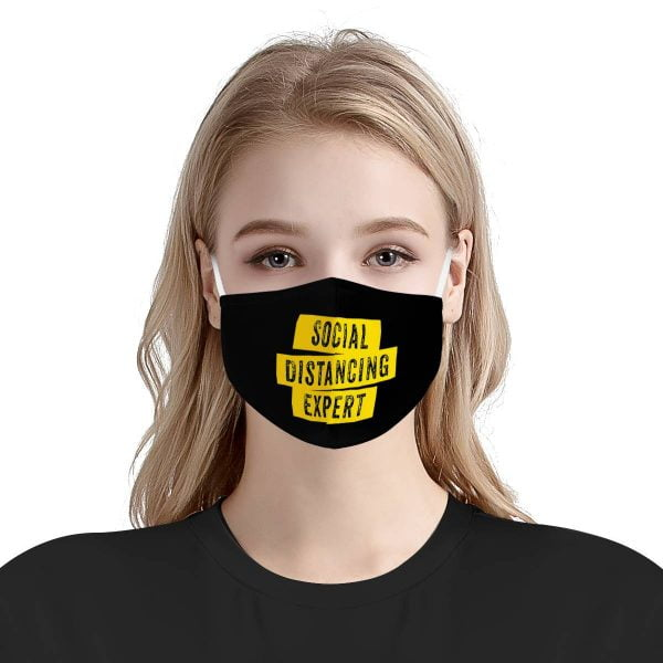 Social Distancing Expert Face Mask + Filters PM2.5