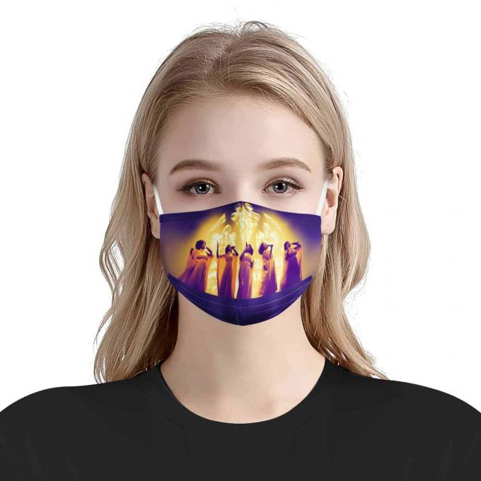 the clark sisters Face Mask + Filters PM2.5