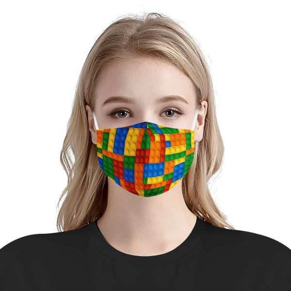 Lego Face Mask + Filters PM2.5