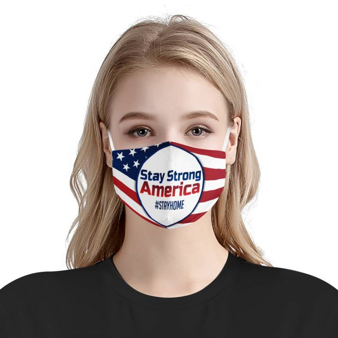Stay Strong America Face Mask + Filters PM2.5