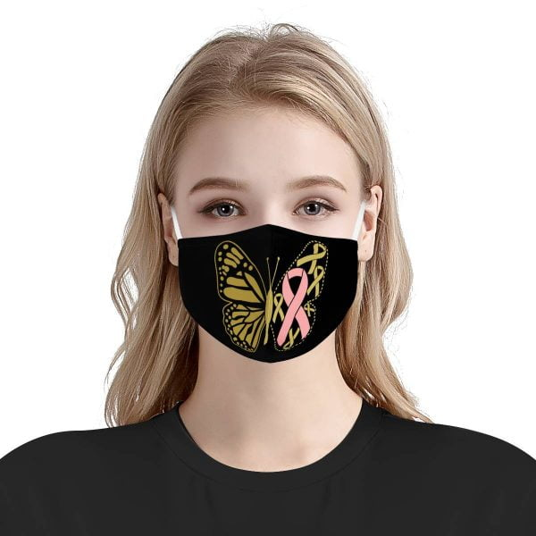 Cancer Survivor Face Mask – Butterfly + Filters PM2.5