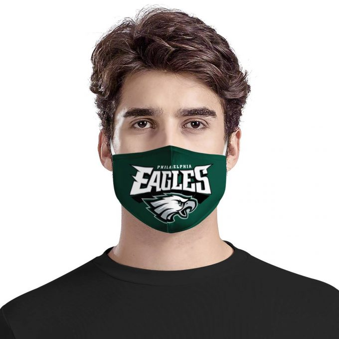 Philadelphia Eagles Face Mask + Filters PM2.5