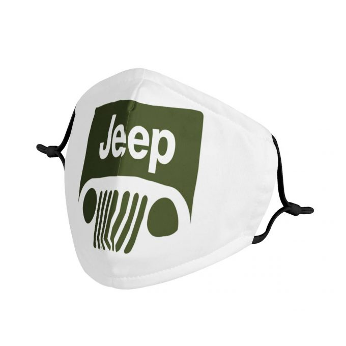 Jeep Face Mask + Filters PM2.5