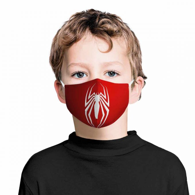 Spiderman Kids Face Mask + Filters PM2.5