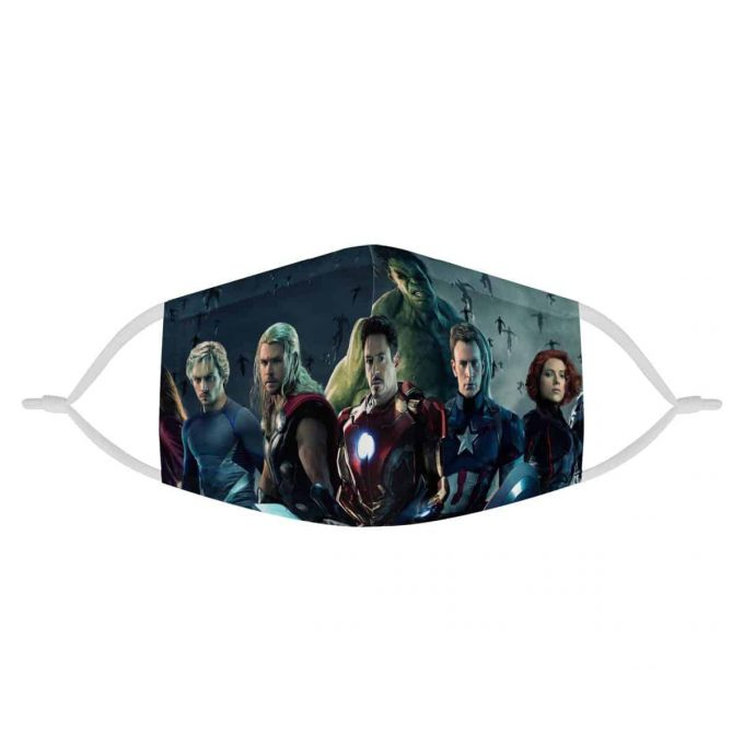 The Avengers Kids Face Mask + Filters PM2.5
