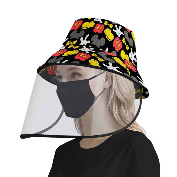 Mickey Mouse Face Shield Hat