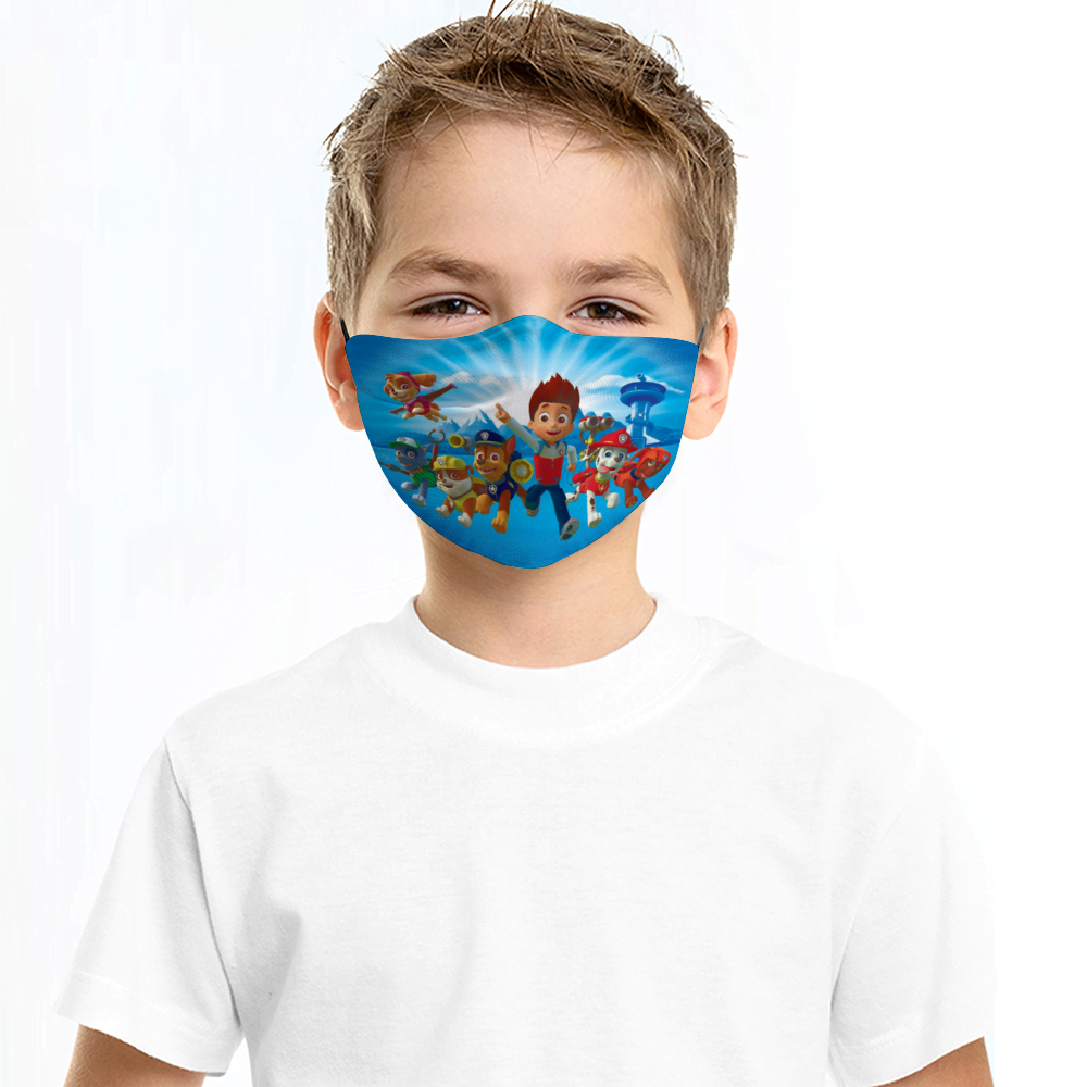 Paw Patrol Kids Face Mask + Filters PM2.5