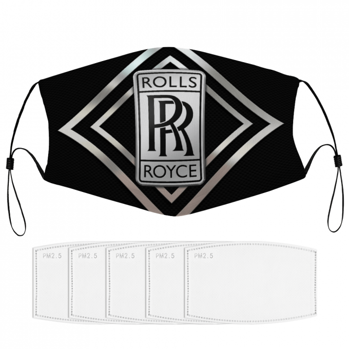 Rolls Royce Face Mask + Filters PM2.5