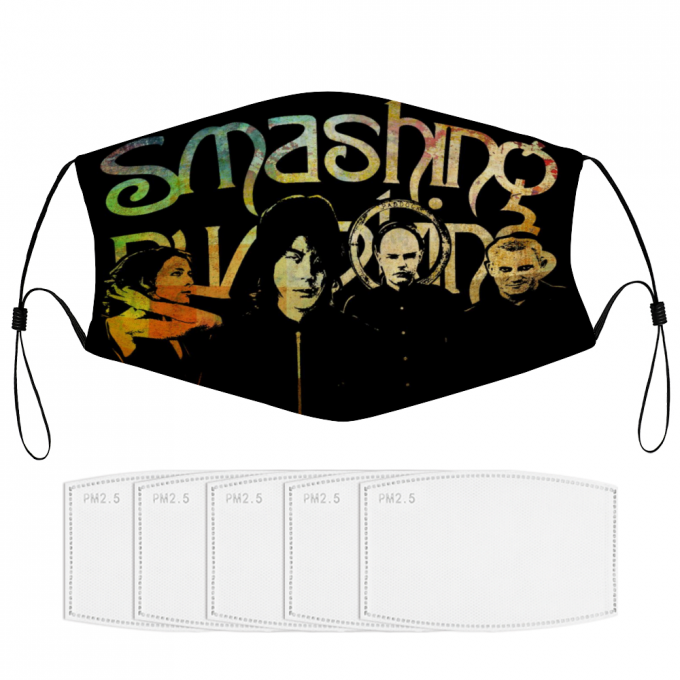 The Smashing Pumpkins Face Mask + Filters PM2.5