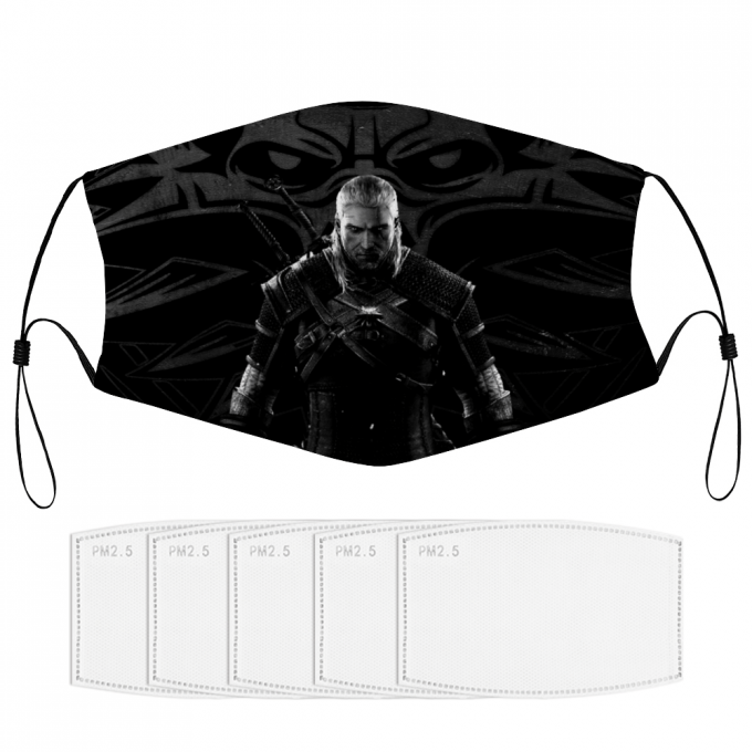 The Witcher Face Mask + Filters PM2.5