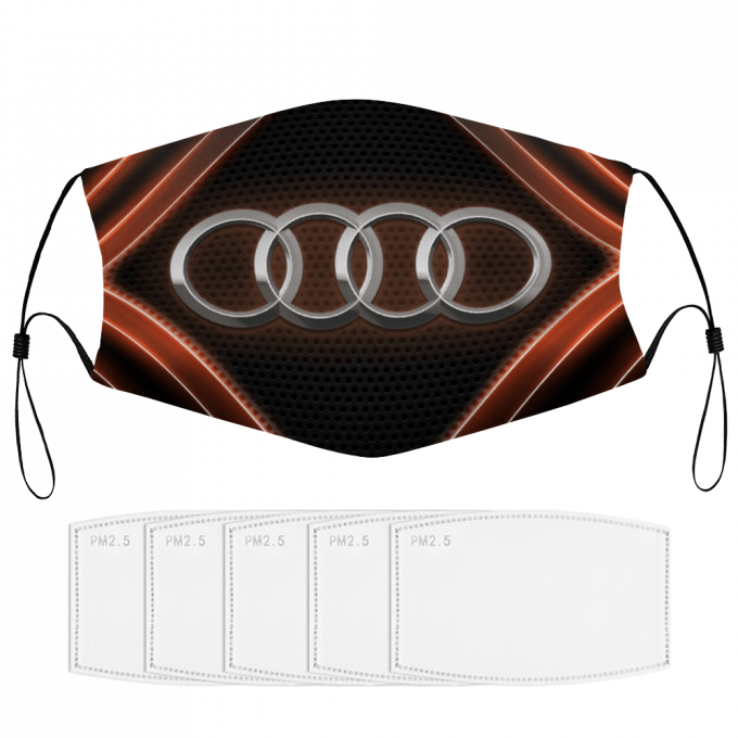 Audi Face Mask + Filters PM2.5