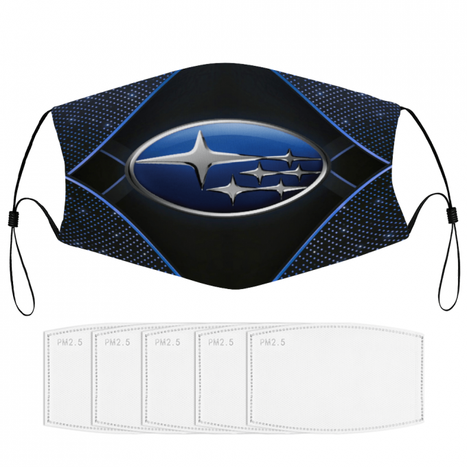 Subaru Face Mask + Filters PM2.5