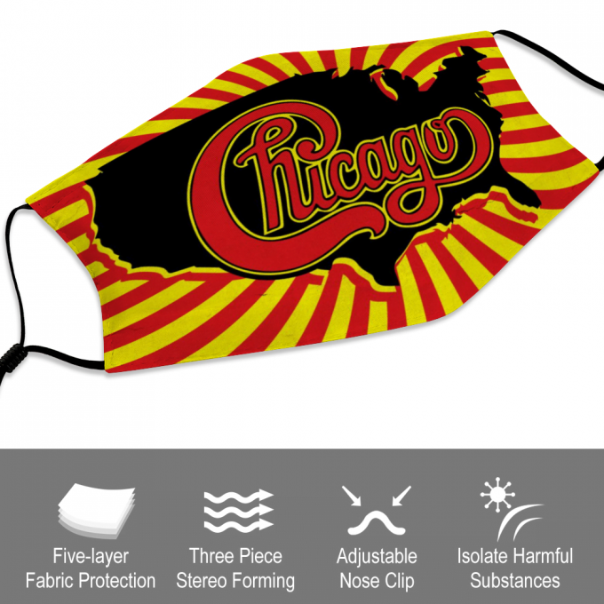 Chicago Face Mask + Filters PM2.5