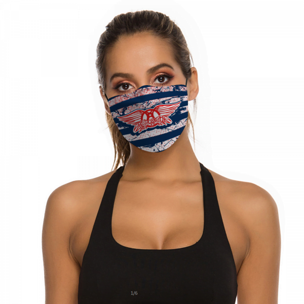 Aerosmith Face Mask + Filters PM2.5