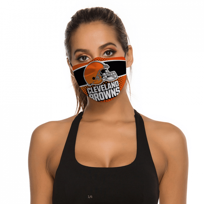 Cleveland Browns Face Mask + Filters PM2.5