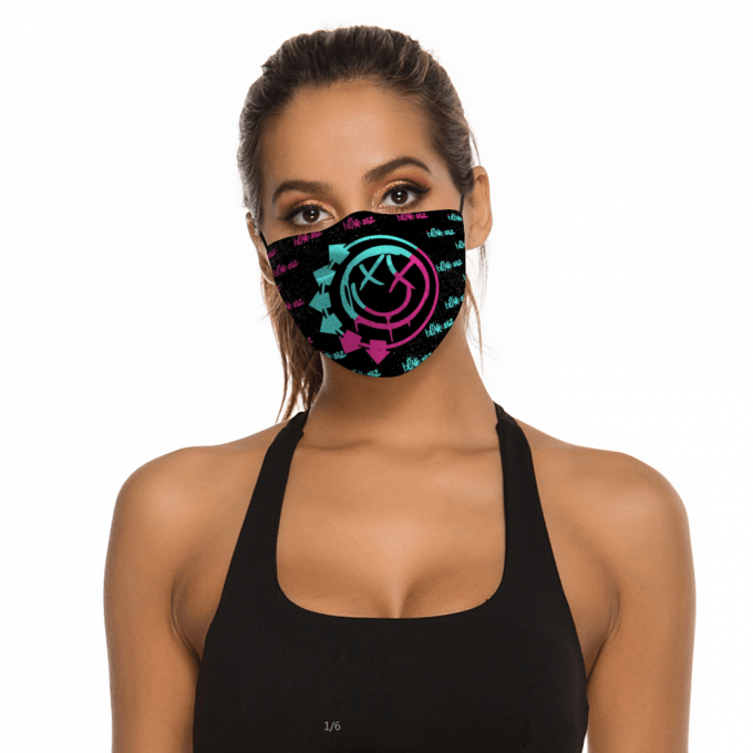 Blink 182 Face Mask + Filters PM2.5