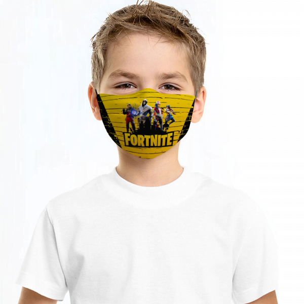 Fortnite Face Mask + Filters PM2.5