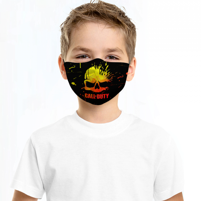 Call of Duty Face Mask + Filters PM2.5