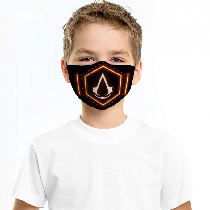 Assassins Creed Face Mask + Filters PM2.5