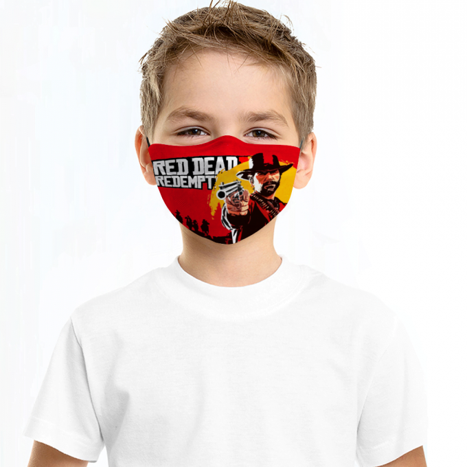 Red Dead Redemption Face Mask + Filters PM2.5