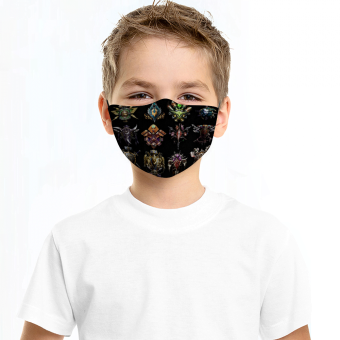 World of Warcraft Face Mask + Filters PM2.5