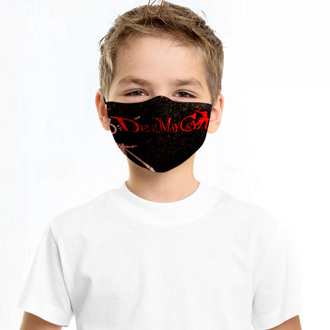 Devil May Cry Face Mask + Filters PM2.5