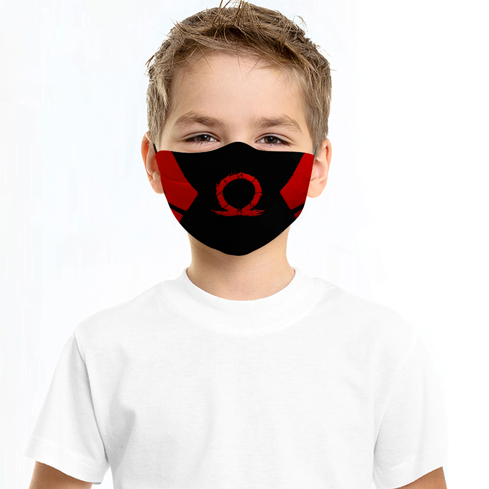 God of War Face Mask + Filters PM2.5