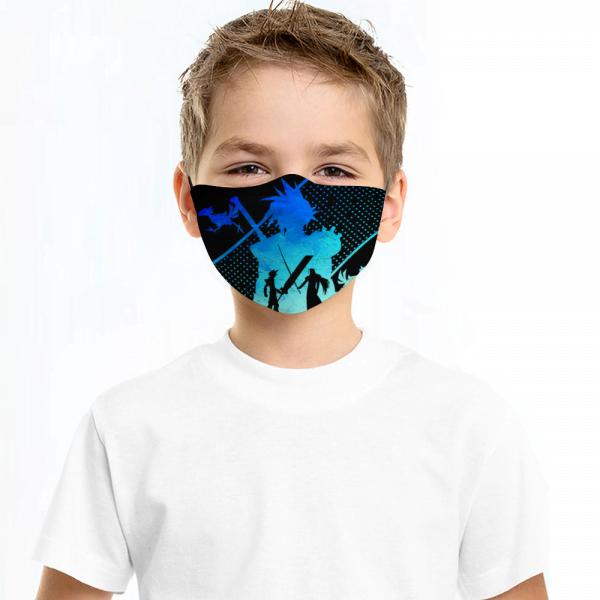 Final Fantasy Face Mask + Filters PM2.5