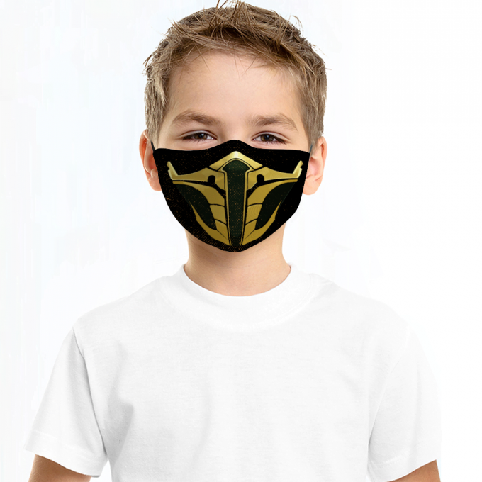 Jade Mortal Kombat Face Mask + Filters PM2.5