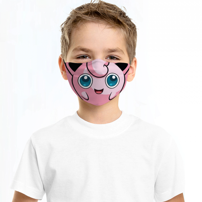 Bulbasaur Pokemon Face Mask + Filters PM2.5 (Copy)