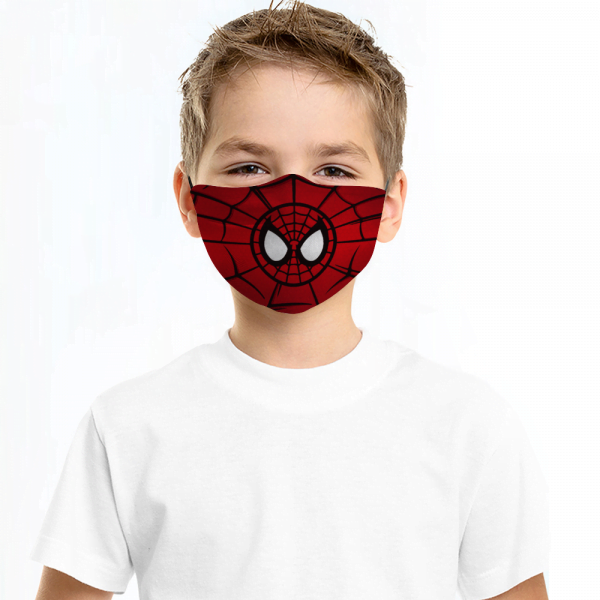 Spiderman Face Mask + Filters PM2.5