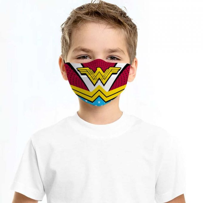 Wonder Woman Face Mask + Filters PM2.5