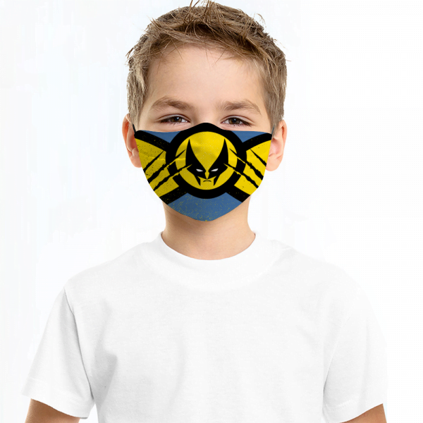 Wolverine Face Mask + Filters PM2.5