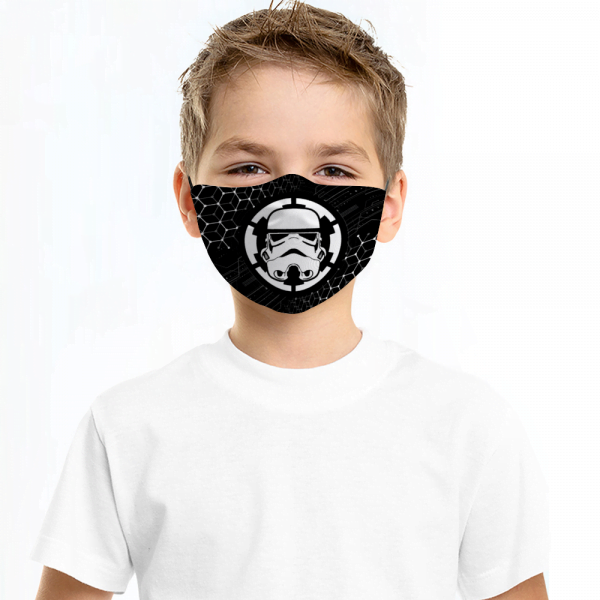 Stormtrooper Face Mask + Filters PM2.5