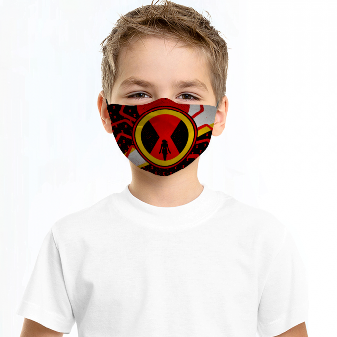 Black Widow Face Mask + Filters PM2.5