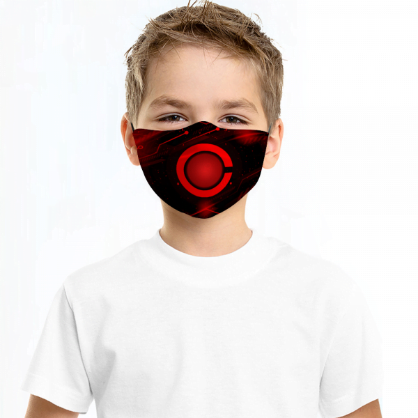 Captain America Face Mask + Filters PM2.5 (Copy)
