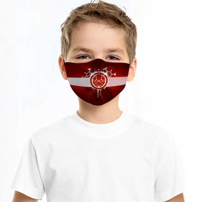 Ant man Face Mask + Filters PM2.5